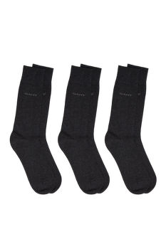 PONOŽKY GANT 3-PACK SOFT COTTON SOCKS