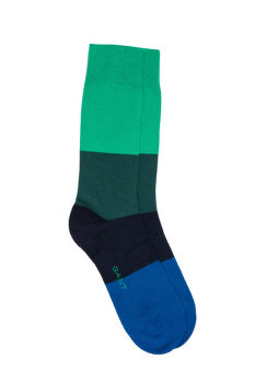 PONOŽKY GANT O1. COLOR BLOCK SOCKS