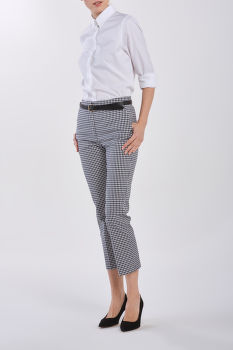 NOHAVICE GANT GINGHAM STRETCH CIGARETTE PANT