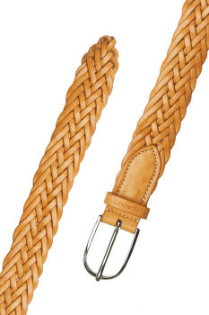 OPASOK GANT D1. BRAIDED LEATHER WAIST BELT