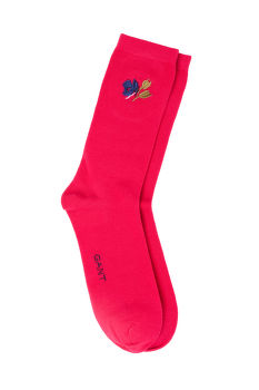 PONOŽKY GANT D1. 1-PACK ANKLE EMBROIDERY SOCKS