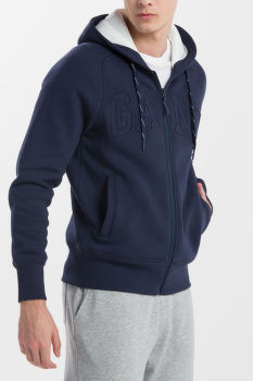 MIKINA GANT O1. MOBILIZE FULL ZIP HOODIE