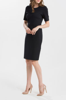 ŠATY GANT O1. FITTED CLASSIC DRESS