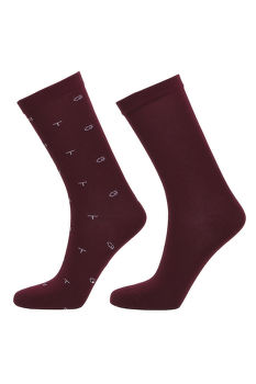 PONOŽKY D1. 2-PACK GANT AND SOLID SOCKS