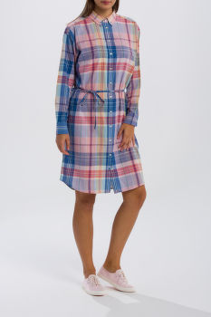 ŠATY GANT O2. MADRAS SHIRT DRESS