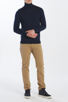 SVETER GANT D1. WASHABLE MERINO TURTLENECK
