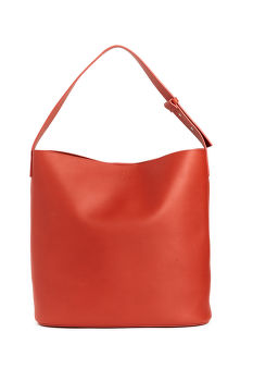 KABELKA GANT D1.LEATHER BUCKET BAG
