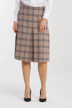 SUKŇA GANT D1. WASHABLE STRETCH WOOL SKIRT
