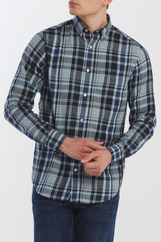 KOŠEĽA GANT D2. WINDBLOWN FLANNEL PLAID REG BD