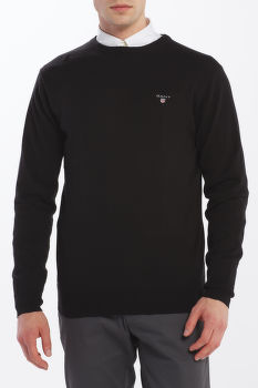 SVETER GANT COTTON WOOL CREW