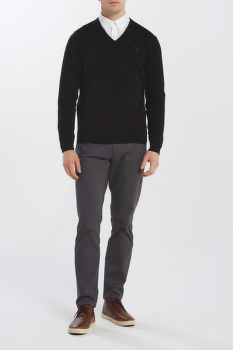 SVETER GANT LIGHT WEIGHT COTTON V-NECK