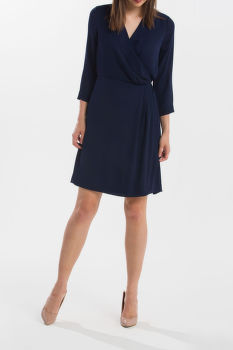 ŠATY GANT G1. SOLID WRAP DRESS