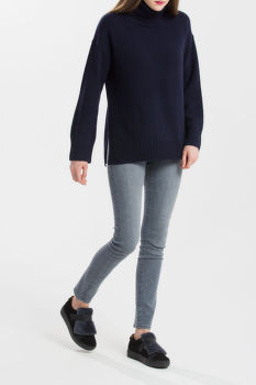 SVETER GANT O2. LAMBSWOOL CASHMERE TURTLE NECK