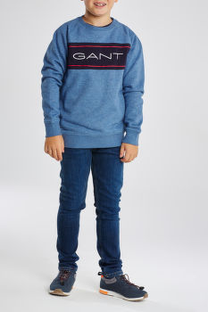 MIKINA GANT D1. TB. GANT ARCHIVE C-NECK SWEAT