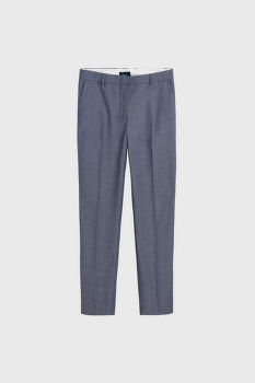 NOHAVICE GANT D1. WASHABLE CHAMBRAY TAPERED PANT