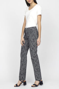 Nohavice GANT O2. FLORAL PRINTED JEANS