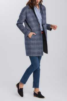 KABÁT GANT D1. REVERSIBLE HANDSTITCHED COAT