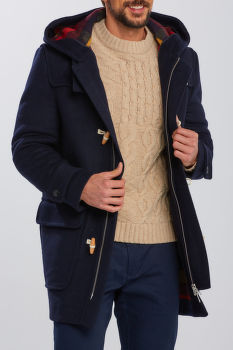 KABÁT GANT D2. THE DUFFEL COAT