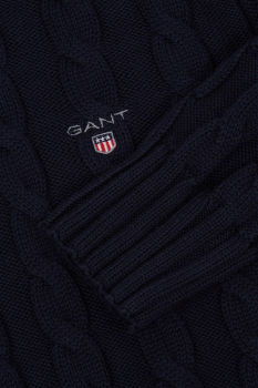 SVETER GANT D1. COTTON CABLE TURTLE NECK