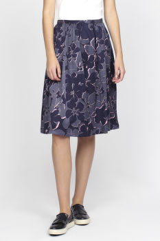 Sukňa GANT O1. FLORAL SHADOW SKIRT
