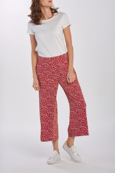 NOHAVICE GANT D2. FRENCH FLORAL FLUID CULOTTE