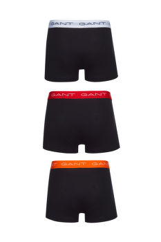 SPODNÁ BIELIZEŇ GANT 3-PACK TRUNK SEASONAL SOLIDS