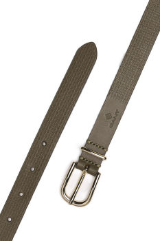 OPASOK GANT SIGNATURE WEAVE LEATHER BELT