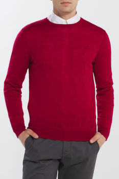 SVETER GANT D1. WASHABLE MERINO C-NECK