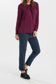 KOŠEĽA GANT O1. FEATHERWEIGHT SOLID BLOUSE