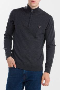 SVETER GANT COTTON WOOL ZIP