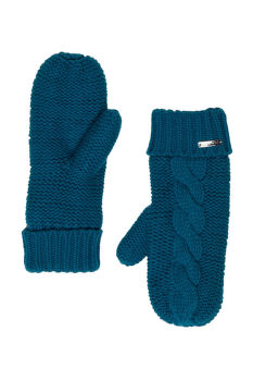 Rukavice GANT O1.CABLE MITTENS