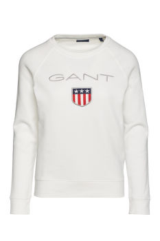 MIKINA  GANT  SHIELD LOGO C-NECK SWEAT