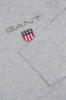 TRIČKO GANT D1. MEDIUM SHIELD LS T-SHIRT