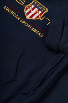 BODY GANT D1. ARCHIVE SHIELD HOODIE COVERALL