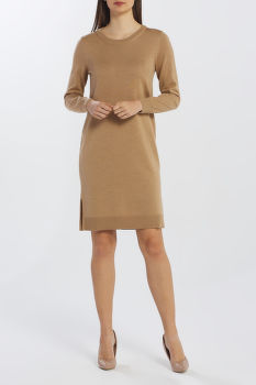 ŠATY GANT D1. MERINO WOOL DRESS