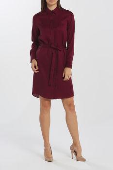 ŠATY GANT D2. SIGNATURE WEAVE SHIRT DRESS