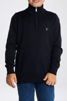 SVETER GANT D1. WEIGHT COTTON HALF ZIP