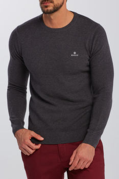 SVETER GANT COTTON PIQUE C-NECK
