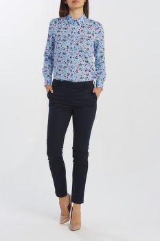 KOŠEĽA GANT D1. SCRIBBLED FLORAL STRETCH SHIRT