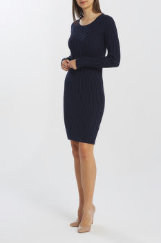 ŠATY GANT D1. RIB KNITTED DRESS