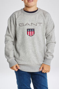 MIKINA GANT SHIELD LOGO SWEAT C-NECK