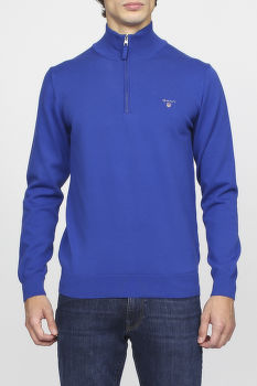 Sveter GANT O1. STRETCH COTTON HALF ZIP