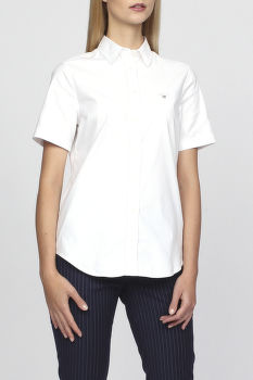 Košeľa GANT STRETCH OXFORD SOLID SS SHIRT
