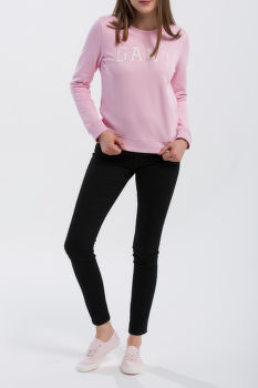 MIKINA GANT O1. LOGO C-NECK SWEAT