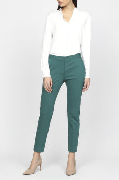 Nohavice GANT G1. TAILORED JERSEY PANTS