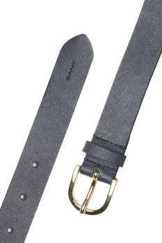 OPASOK GANT O2. SAFFIANO LEATHER BELT
