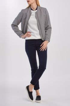 BUNDA GANT D1. GINGHAM FLUID BLOUSSON JACKET